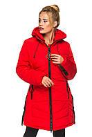 Куртка Аміна Червоний Розмір 48