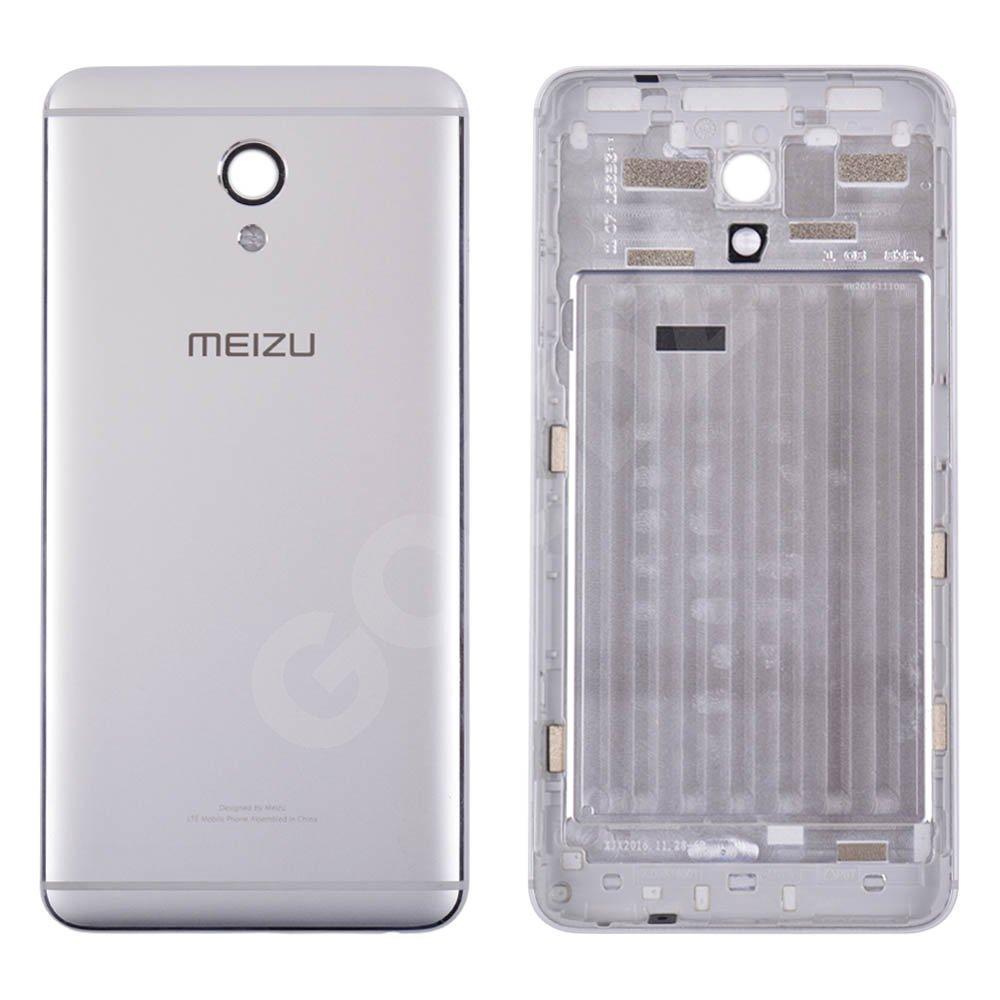 Задняя крышка для Meizu M5 Note, цвет серебро