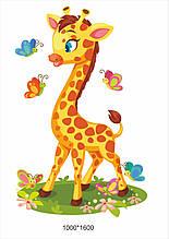 Наклейка на стіну «Жирафа»