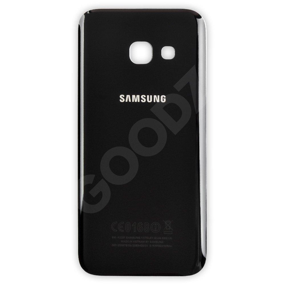 Задняя крышка Samsung A320 Galaxy A3 (2017), цвет черный