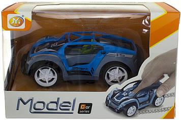 Машина інер-а 11.5 см,гумові колеса,2вида по 2 кольлор.,у кор-ці,15,5х10х8см№YJ-009-10 (72)