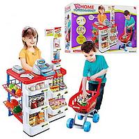 Детский игровой набор магазин с продуктами и кассовым аппаратом.Игрушка для девочки.Детский игровой набор