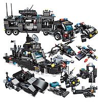 Развивающий конструктор Городская полиция, спецназ 792 деталей совместим с Lego