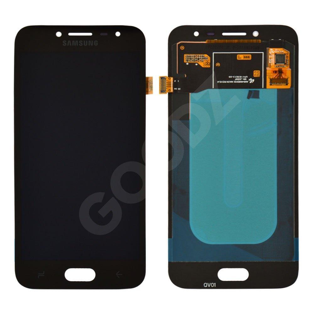 Дисплей для Samsung J250H/DS Galaxy J2 (2018) с тачскрином в сборе, цвет черный, Original Change Glass