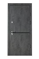 Двери входные металлические Булат Гарант 850*2050/950*2050 513 Бетон темный/ Бетон светлый