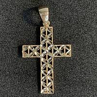 Золотой крест БУ 585 пробы, вес - 1.42 г. Наложенный платеж