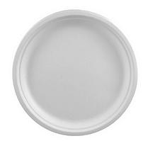 Тарелка одноразовая пластиковая диаметр 205мм.
