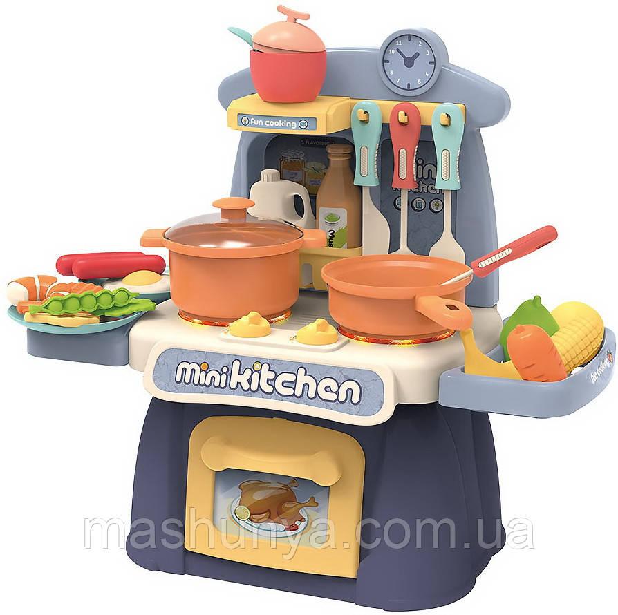 Игровой набор Кухня 889-173 свет звук 26 деталей Пром
