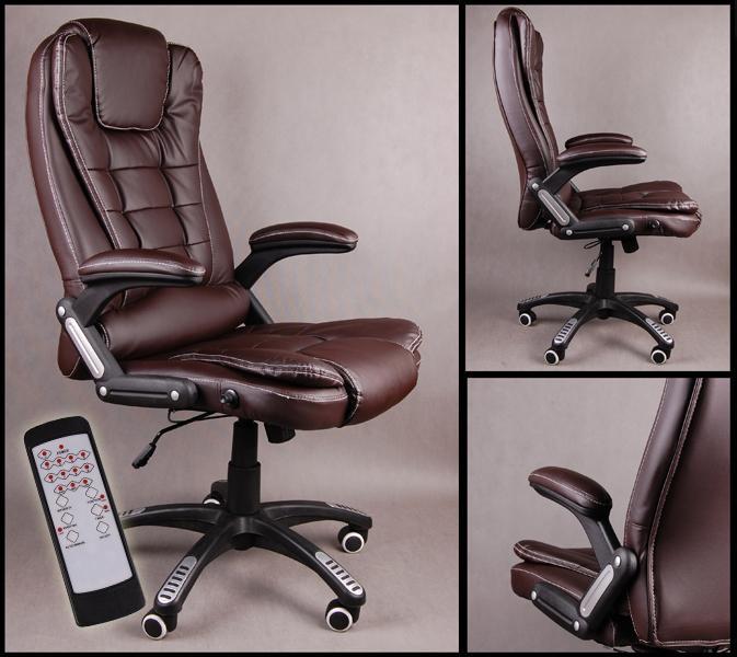Крісло офісне керівника масажне Bruno BSB