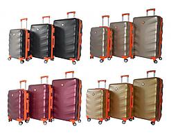 Дорожній чемодан Bonro Next на колесах набір 3 штуки