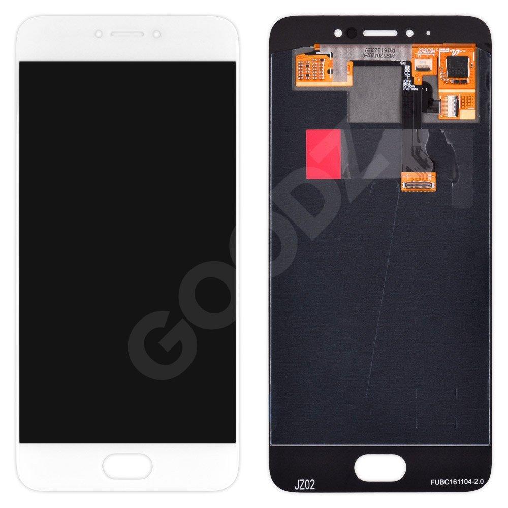 Дисплей Meizu Pro 6 с тачскрином в сборе, цвет белый