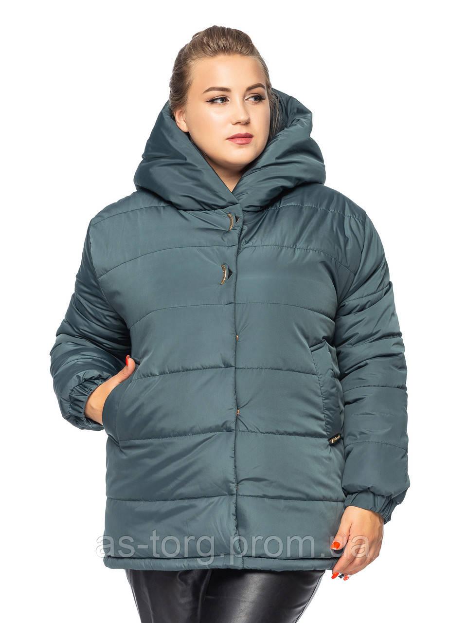 Короткая куртка Элла  Изумрудный