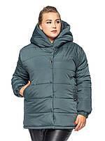 Короткая куртка Элла  Изумрудный, фото 1