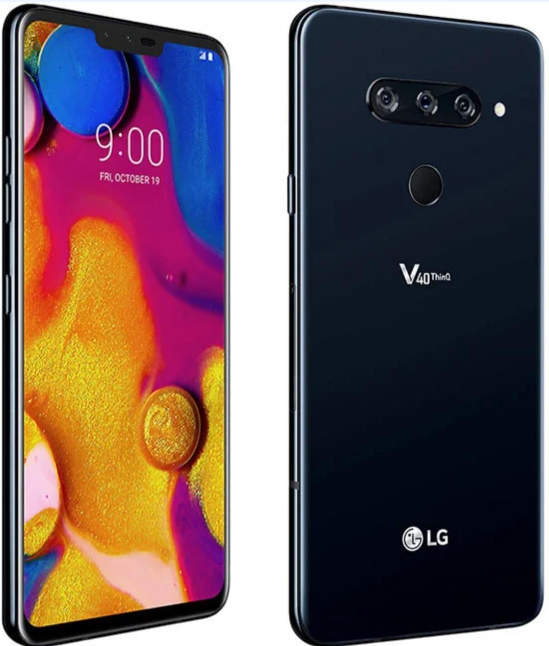 Смартфон LG V40 ThinQ 6/64GB Black