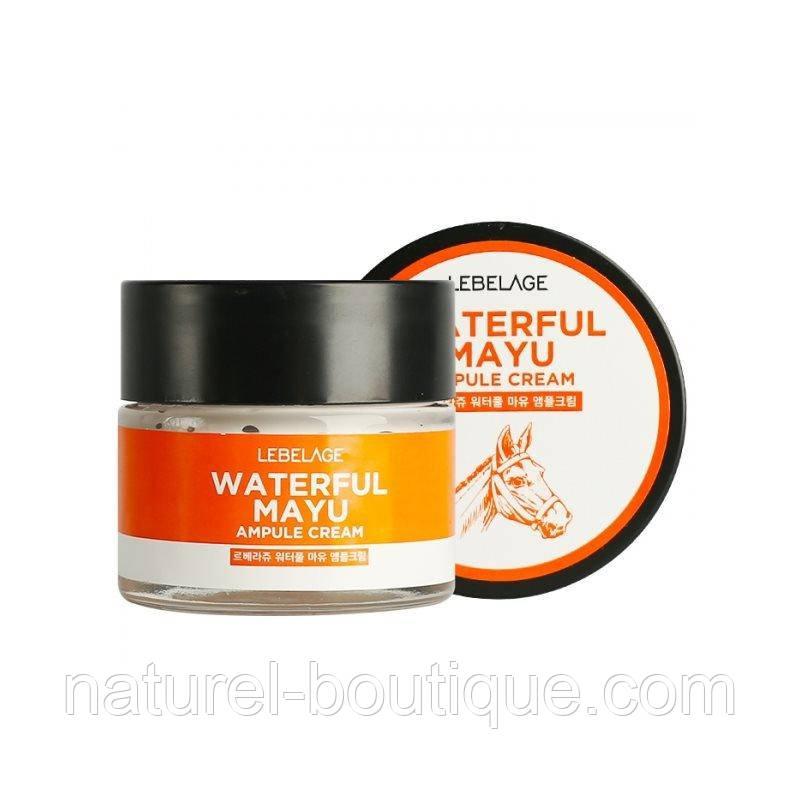 Ампульный крем для лица Lebelage Ampule Cream Waterful  Mayu