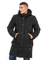 Удлиненная куртка Игнат Черный Размер 52, фото 1
