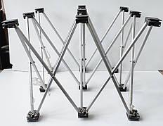 Б/У Каркас для промо стола 500 х 500мм Алюминиевый складной