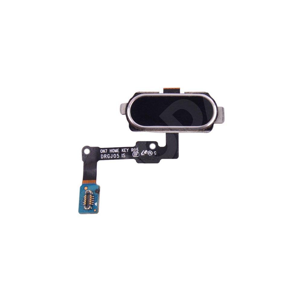 Шлейф для Samsung G570F Galaxy J5 Prime (2016) с кнопкой Home, цвет черный