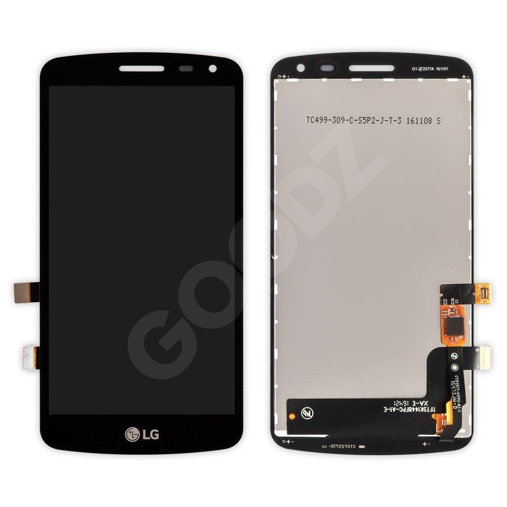 Дисплей LG X220 K5 Dual Sim с тачскрином в сборе, цвет черный