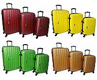 Набір дорожніх валіз на колесах Siker Line набір 3 штуки, фото 1