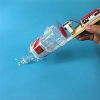 Пылесос из бутылки, конструктор детский - поделка