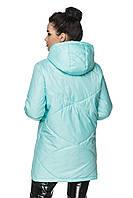 Удлиненная куртка Агата Мятный Размер 52, фото 1