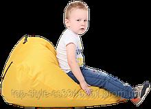 Кресло-груша Желтая Детская 60х90 кресло-мешок