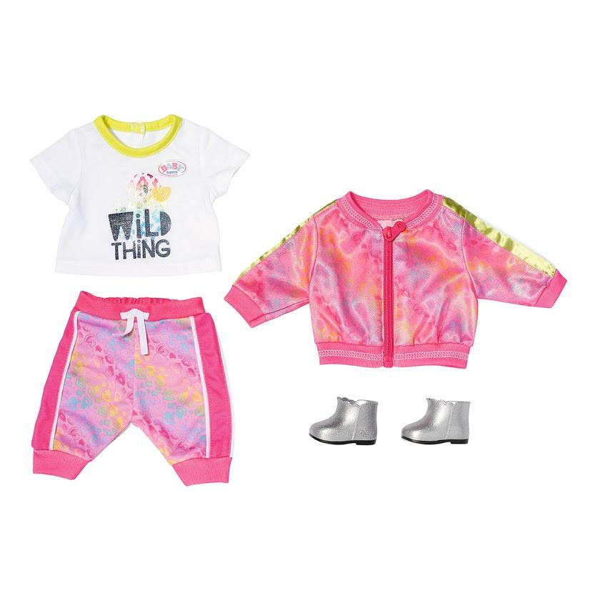 Набор одежды для куклы Baby Born - Трендовый розовый 828335