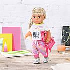 Набор одежды для куклы Baby Born - Трендовый розовый 828335, фото 9
