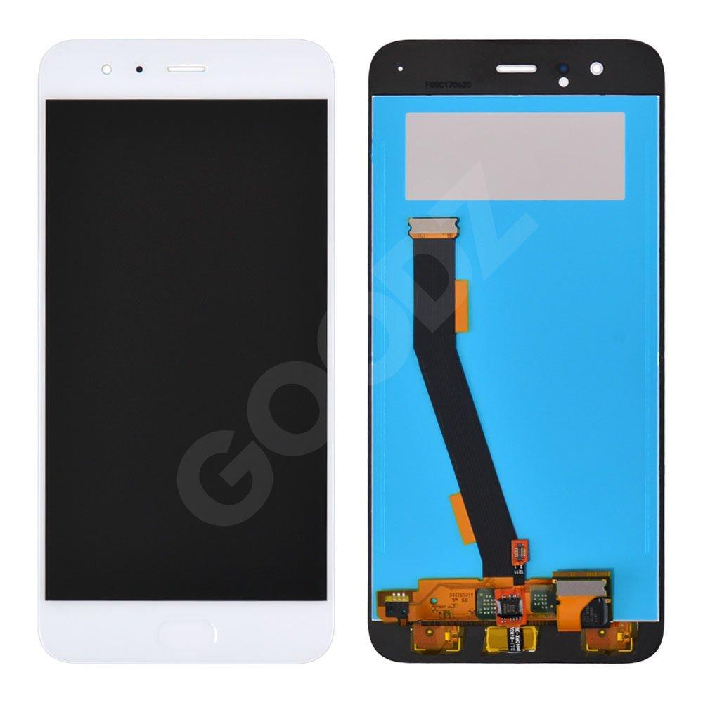 Дисплей Xiaomi Mi6 с тачскрином и датчиком отпечатка, цвет белый, копия высокого качества