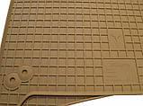 Ковры салона Honda Accord 2008-12 (4 шт - бежевые), фото 2