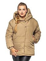 Короткая куртка Элла Оливковый