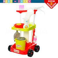 Детский набор для уборки 667-33-35-1 Красный, фото 1