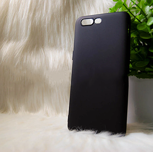 """Силіконовий чохол OnePlus 5 """"Cool Black Чорний (black)"""