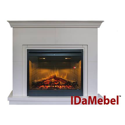 Каминокомплект IDaMebel Montreal DF2608-INT Белый, фото 2