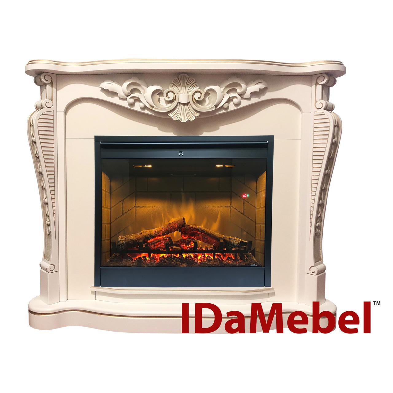 Каминокомплект IDaMebel Dallas White Symphony DF2608