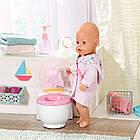 Интерактивный унитазик для куклы со звуком для куклы Born Zapf 828373, фото 6