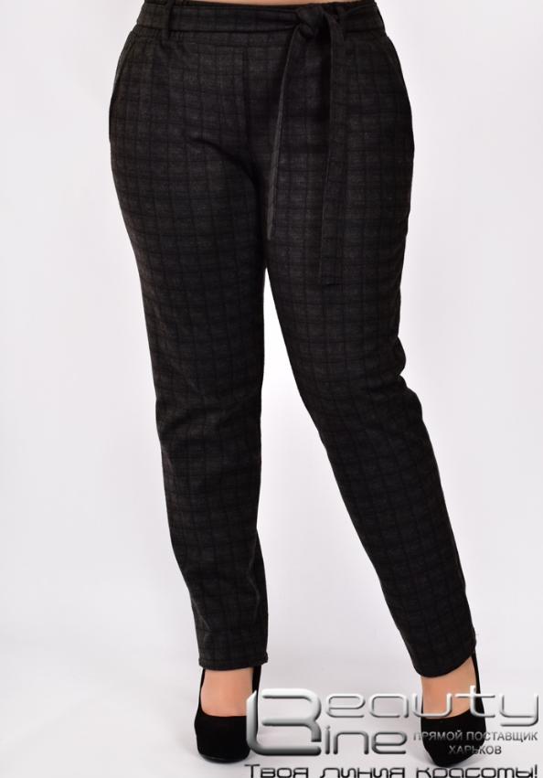 Жіночі брюки теплий коттон у великому розмірі Розміри: 50.52.54.56