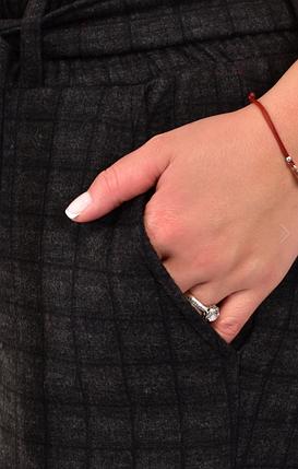 Жіночі брюки теплий коттон у великому розмірі Розміри: 50.52.54.56, фото 2