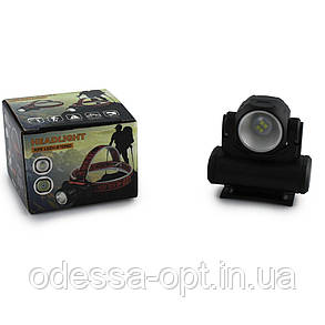 Налобный фонарь BL 2001 4SMD+XPE USB CHARGE, фото 2