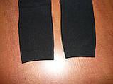 """Лосіни жіночі з начосом """"Світло"""". 2 шва. р. 4XL. Чорні. Велетень, фото 6"""