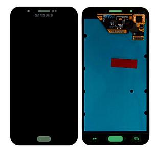 Модуль для Samsung Galaxy A8, Samsung A800 серый, дисплей + сенсор