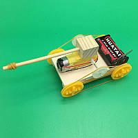 Гусеничный танк, конструктор детский - поделка