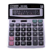 Калькулятор Citizen 240Е, подвійне живлення