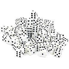 КОСТИ ИГРАЛЬНЫЕ 100 шт (1,5x1,5см) IG-5514, фото 2