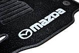 Ковры салона Mazda CX-5 2012- черные, 5шт ворсовые, фото 4
