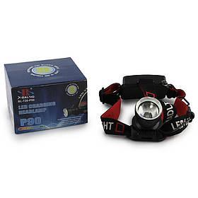 Налобный фонарь BL T20 -P90 2*18650 BATTERY