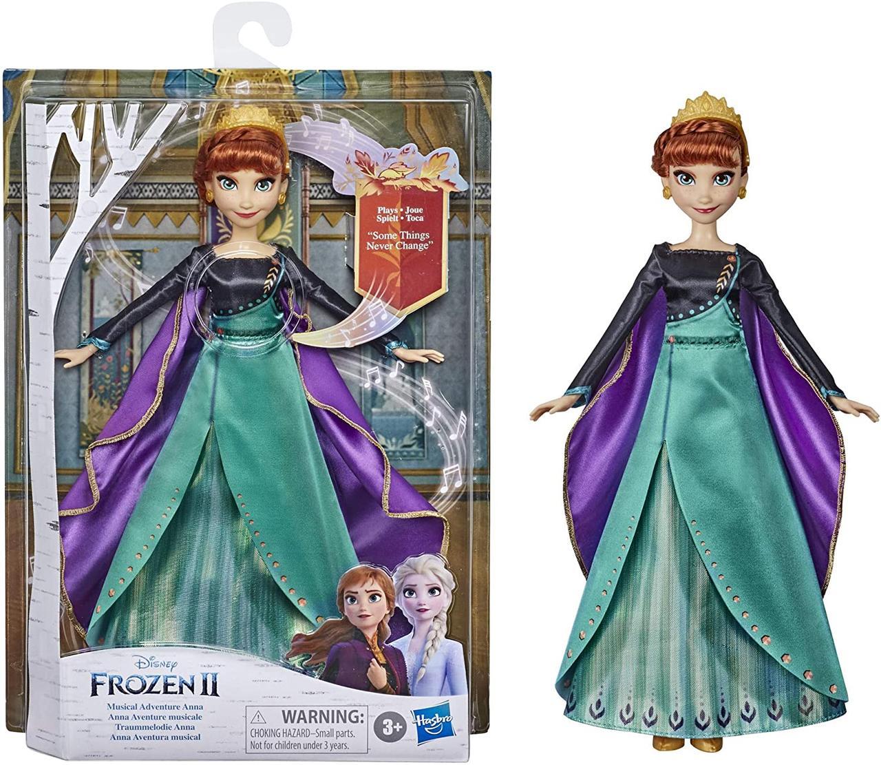 Поющая кукла Анна Холодное сердце 2 Disney Frozen Musical Adventure Anna Singing Doll Оригинал Hasbro