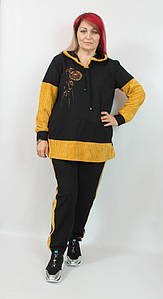 Турецкий женский прогулочный костюм больших размеров 52-58