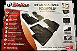 Килимки автомобільні в салон RIZLINE для SKODA Rapid 2012- S-3397, фото 7